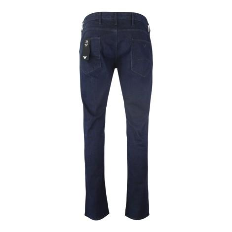 Emporio Armani Slim-Fit J06 Stretch Cotton Denim