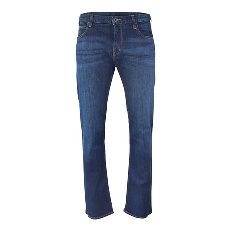 Emporio Armani Regular-Fit J45 Stretch Cotton Denim
