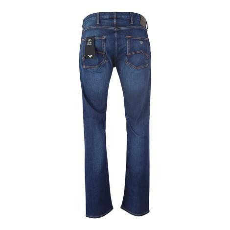 Emporio Armani Regular-Fit J45 Stretch Cotton Denim