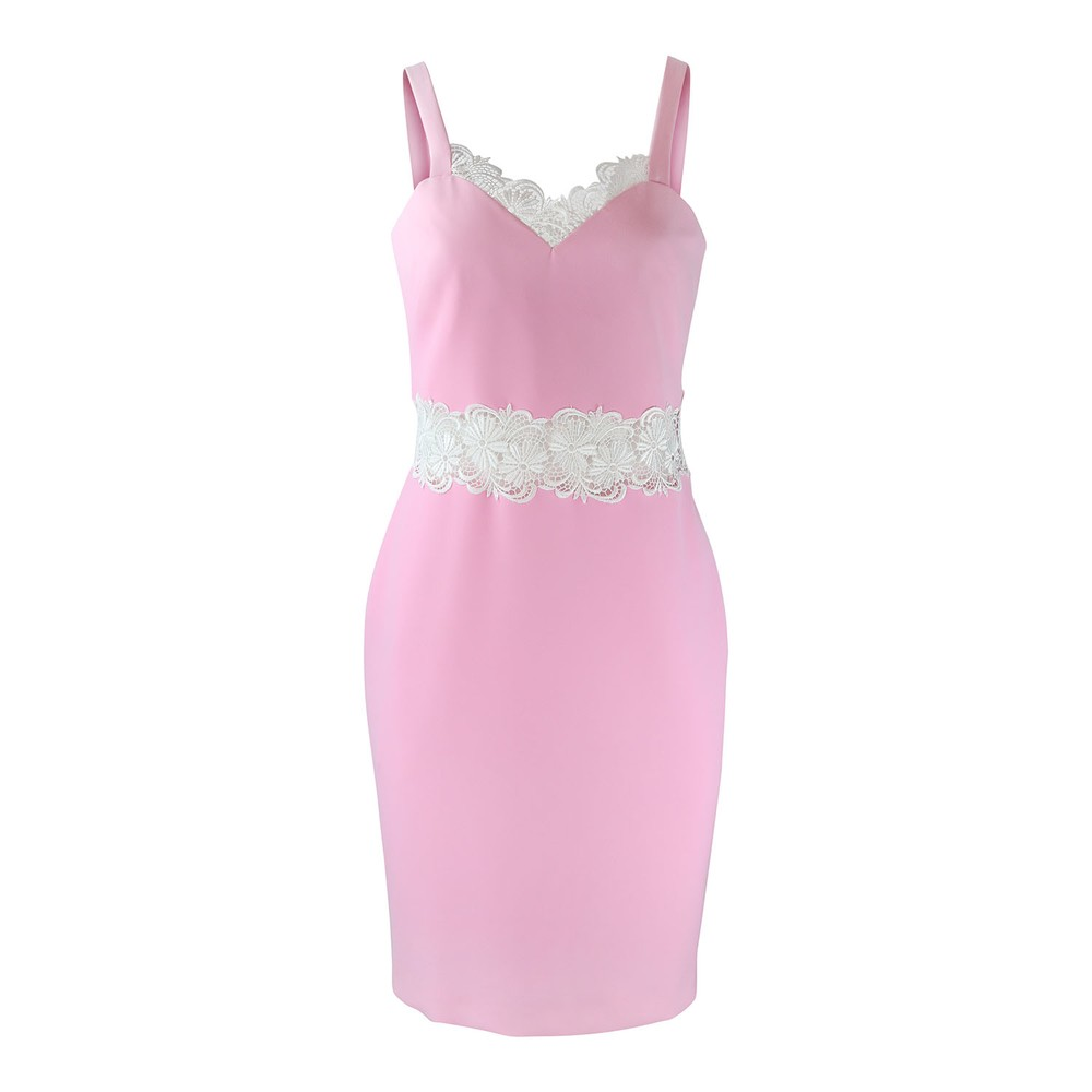 Moschino Boutique Slip Dress Pink