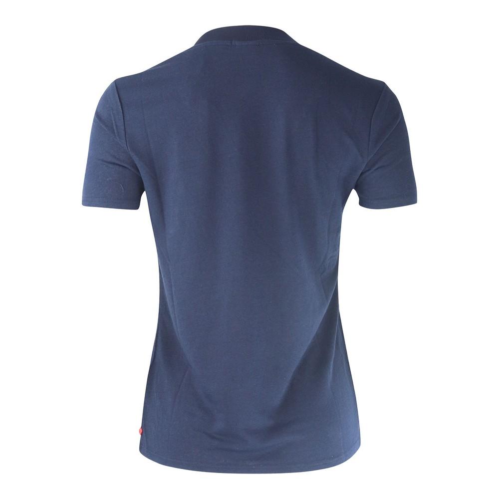 Scotch & Soda V Neck T-Shirt Navy