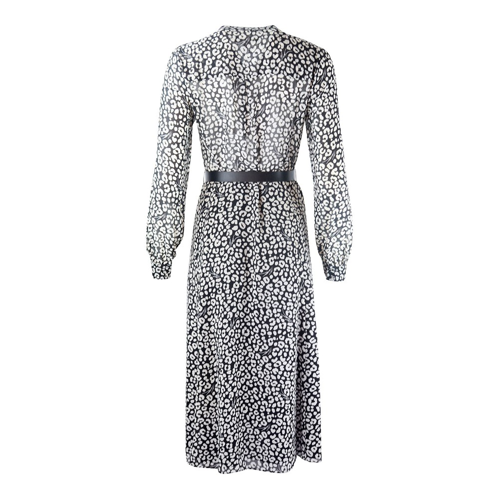 Michael Kors Leopard Print Dress Animal Print