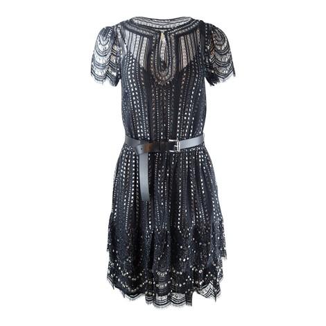 Michael Kors Lux Metal Lace Dress