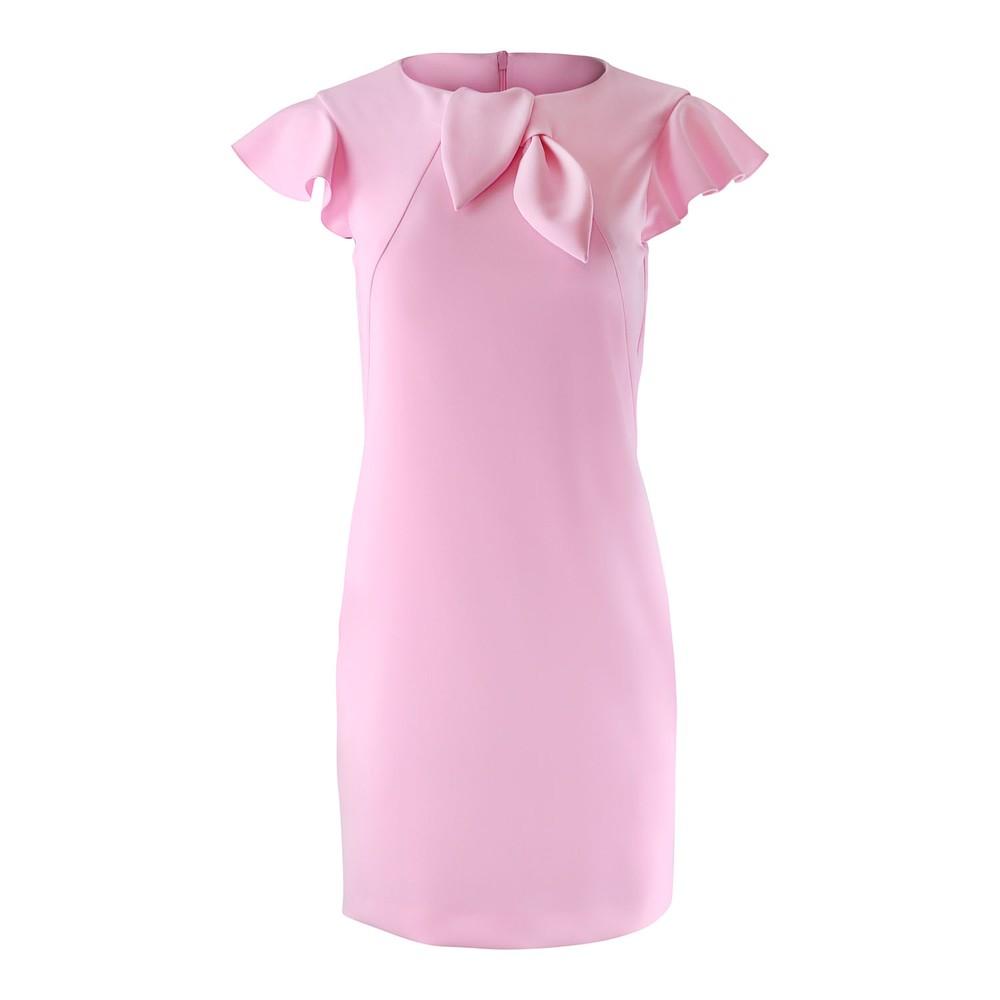 Moschino Boutique Cap Sleeve Dress Pink