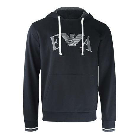 Emporio Armani Pullover Logo Hoodie