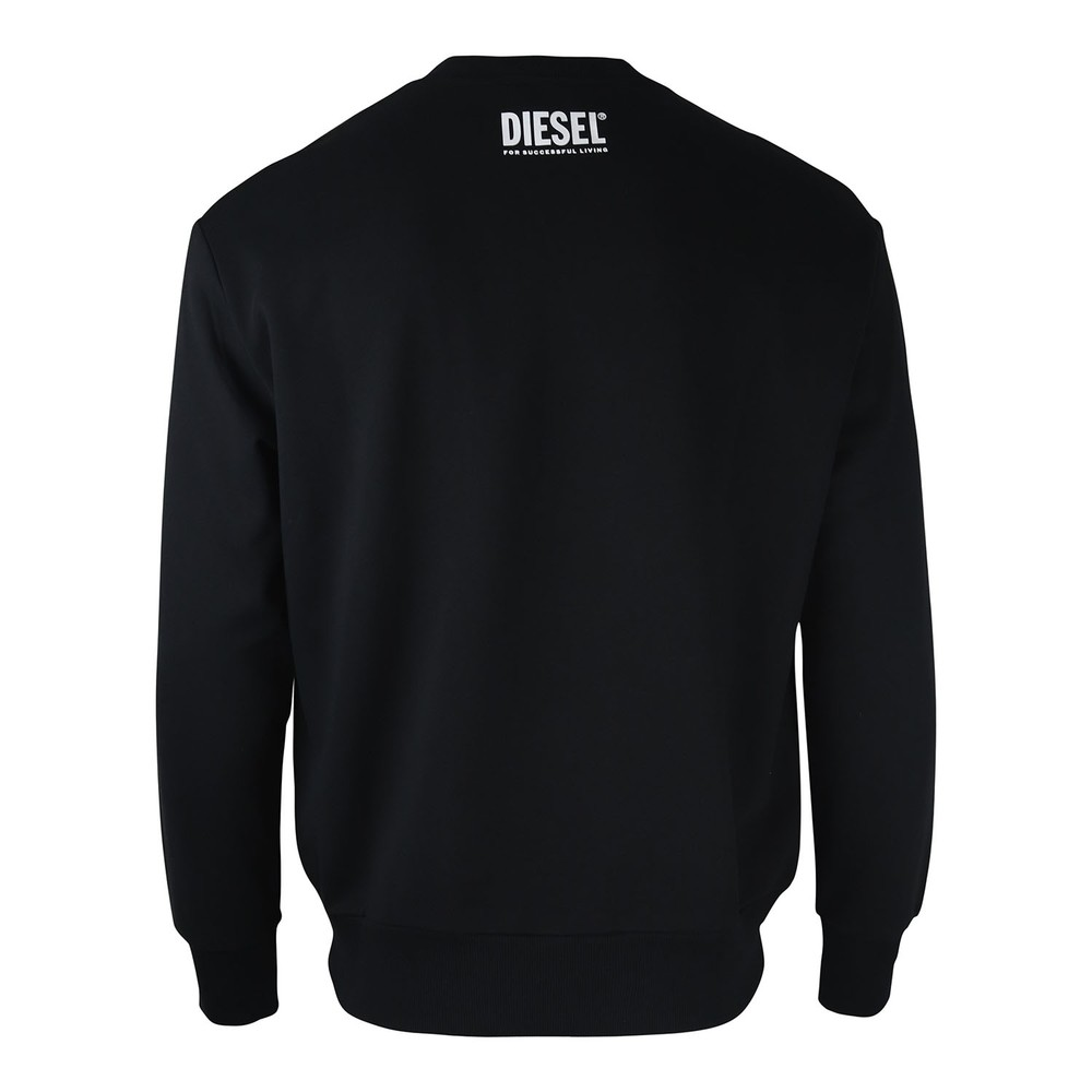 Diesel S-Bay BX4 Felpa Sweatshirt Black