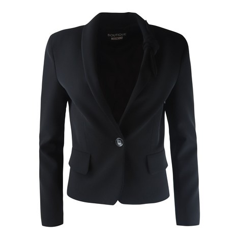 Moschino Boutique Knotted Lapel Jacket