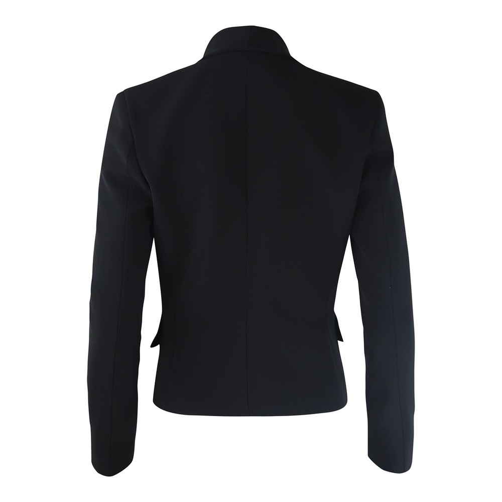 Moschino Boutique Knotted Lapel Jacket Black