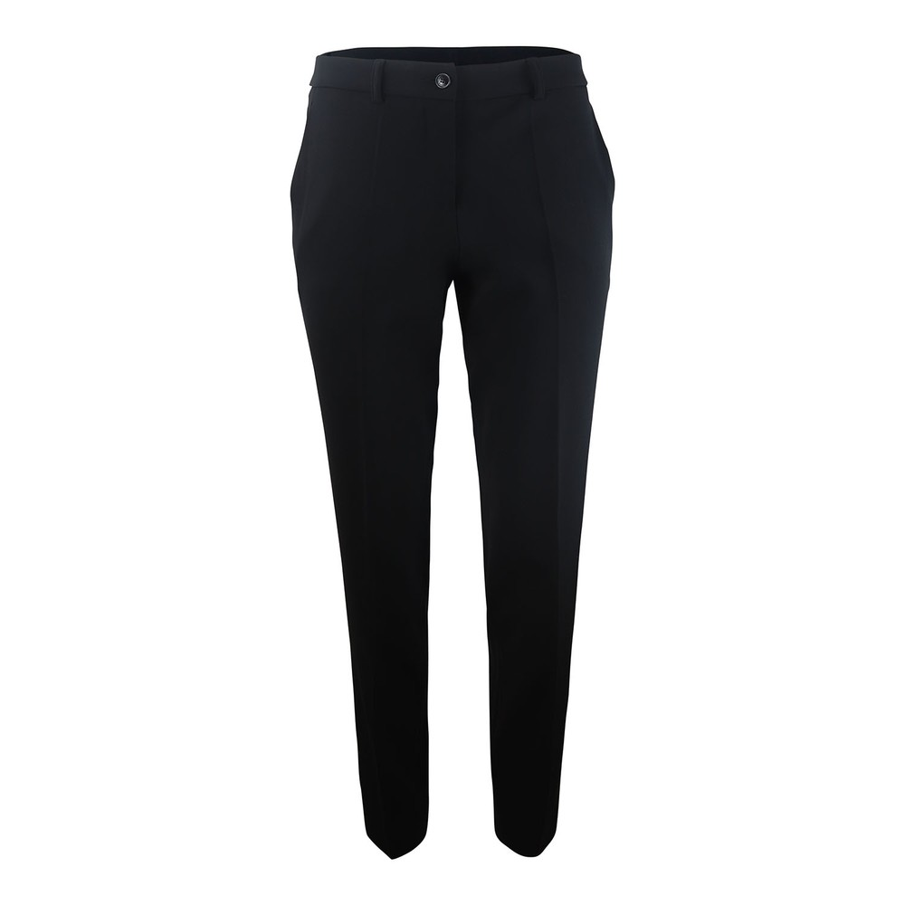 Moschino Boutique Cady Straight Leg Trouser Black