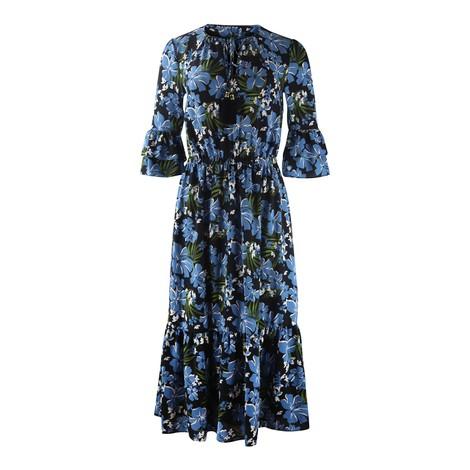 Michael Kors Tropical Mix Tie Dress