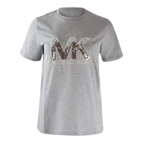 Michael Kors MK Sequin Logo Tee