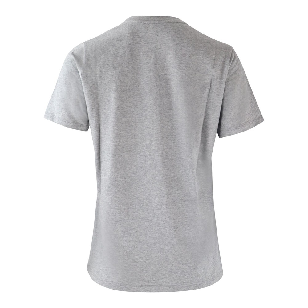 Michael Kors MK Sequin Logo Tee Grey