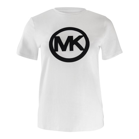 Michael Kors Circle Logo Flock Tee