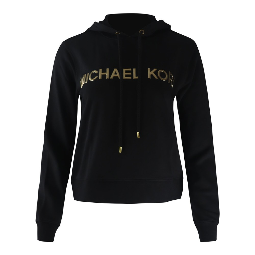 Michael Kors MK Trim Hoodie Black
