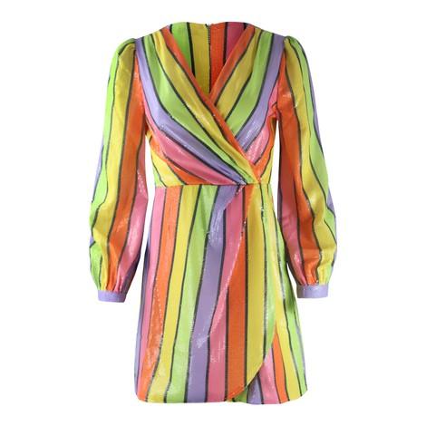 Olivia Rubin Meg Rainbow Mini Dress