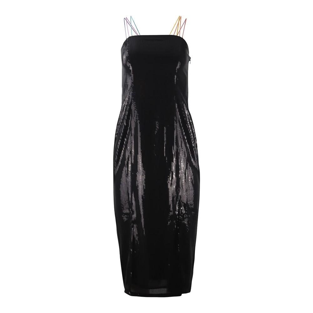 Olivia Rubin Greta Strappy Dress Black