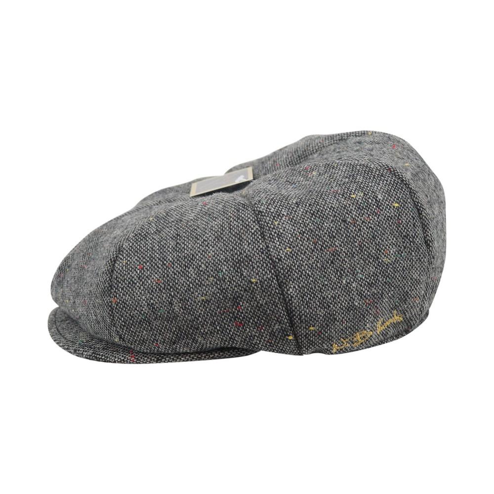 WB Threads Newsboy Style Flat Cap Grey