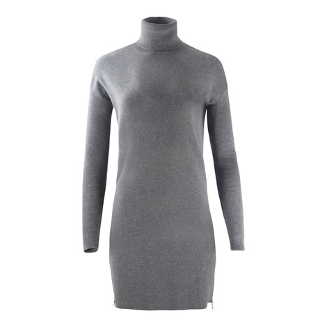 Michael Kors Turtle Neck  Zip Sweater Dress