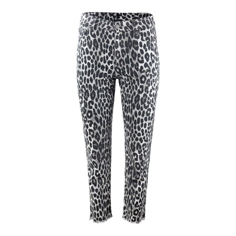 Michael Kors Cheetah Cropped Jeans