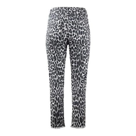 Michael Kors Cheetah Cropped Jeans