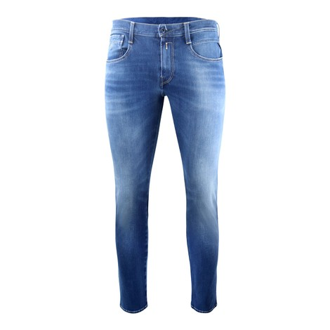 Replay Anbass Hyperflex+ Bi-Stretch Blue Denim