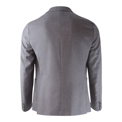 Paul Smith Slim-Fit Charcoal/Pink Wool And Cashmere Two-Button Blazer