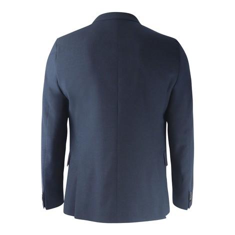 Paul Smith Textured Cross Hatch Lined Wool Blazer
