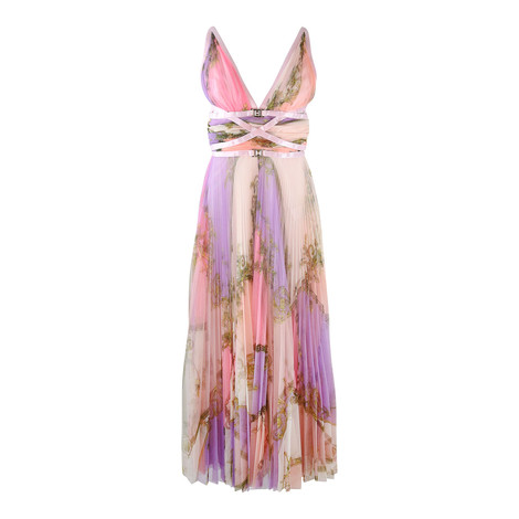 Versace Collection Pink Romantic Dress