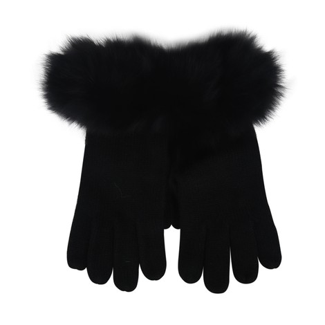 Marella Fur Trim Gloves