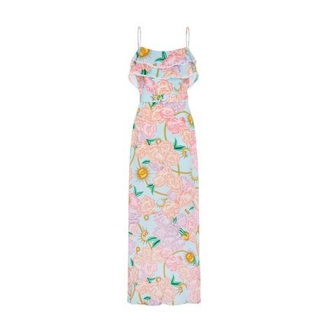 Hayley Menzies  Luna Flora Maxi Frill Dress
