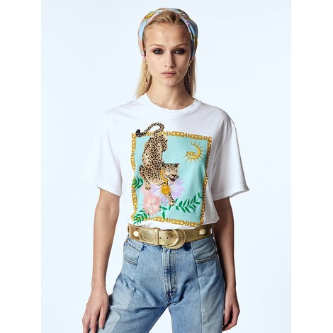Hayley Menzies Enchanted Leopard T-Shirt