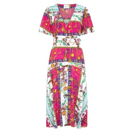 Hayley Menzies  Enchanted Leopard Midi Dress