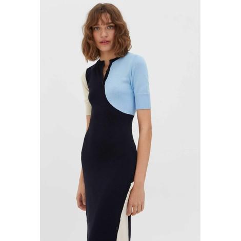 Chinti & Parker Colour Cotton Block Dress