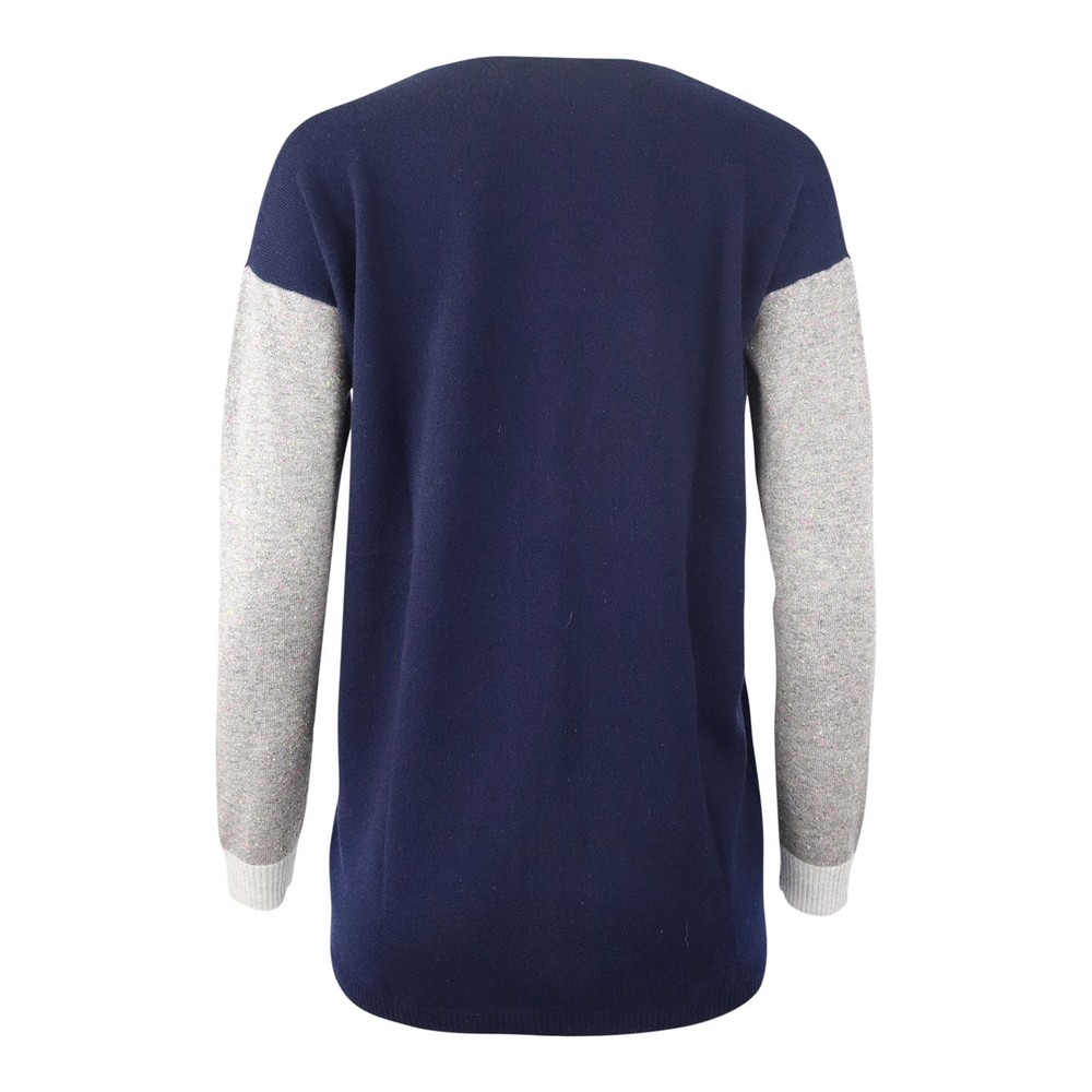 Cocoa Cashmere Grace Cardigan Navy