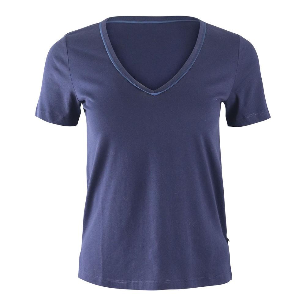 Scotch & Soda Cotton T-Shirt Navy