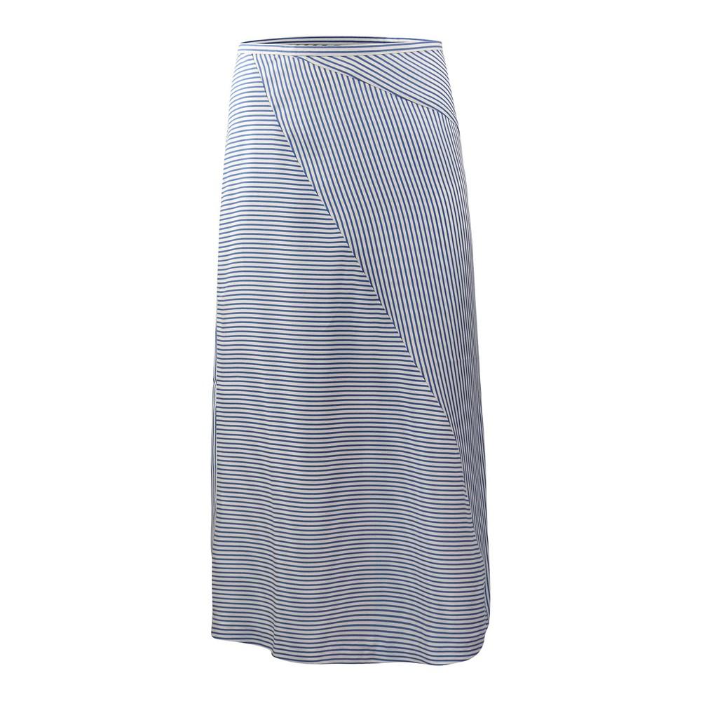 Scotch & Soda Midi Length Skirt Sky Blue