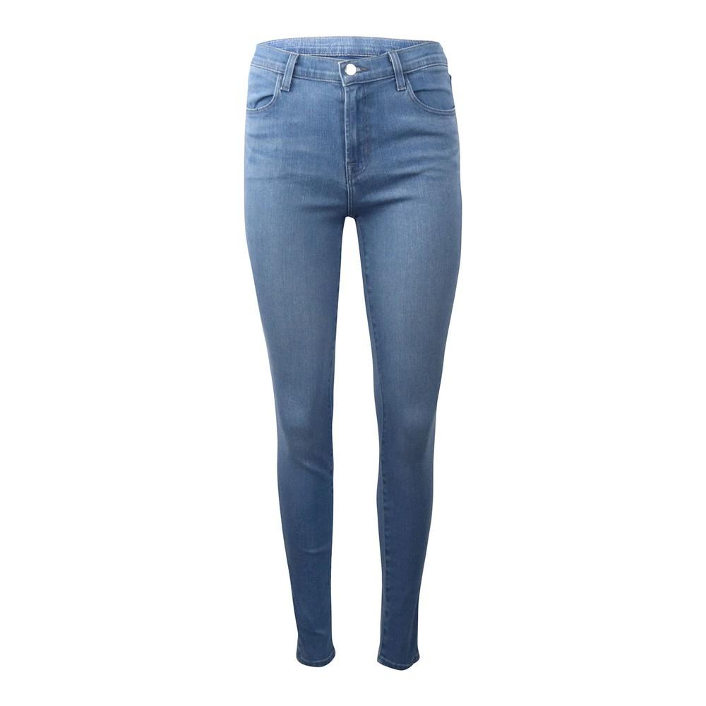 J Brand Heart Maria High Rise Skinny Jeans Mid Wash Denim