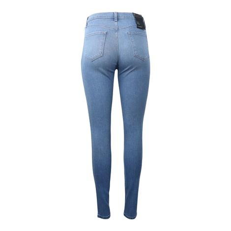 J Brand Heart Maria High Rise Skinny Jeans