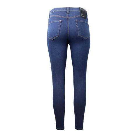 J Brand Alana High Rose Croppy Skinny Jeans