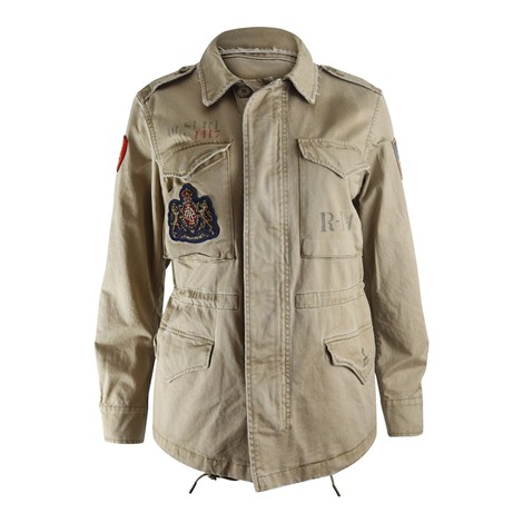 Ralph Lauren Womenswear Military Jacket