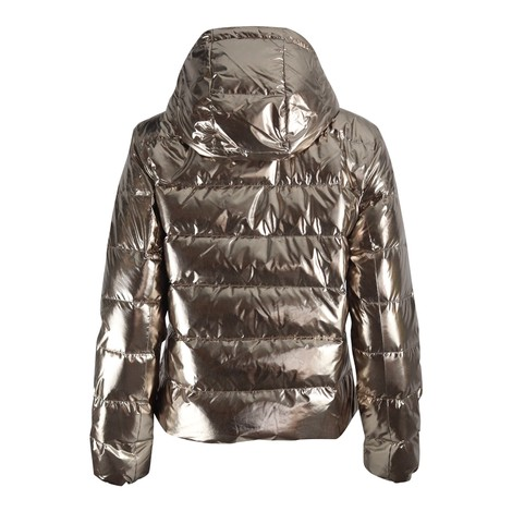 Ralph Lauren Womenswear Metallic Puffa Jacket