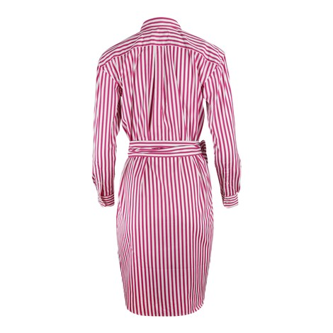 Ralph Lauren Womenswear Striped Shirt Dress