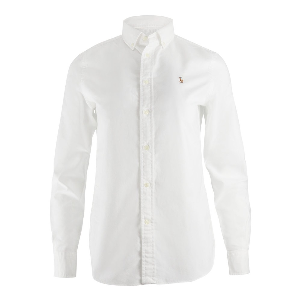 Ralph Lauren Womenswear LT WT Oxford Shirt White