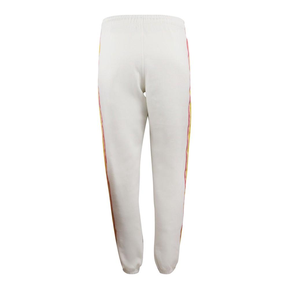 Ralph Lauren Womenswear Striped Sweatpants White