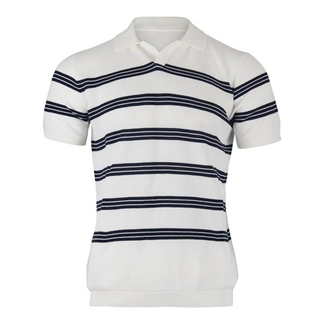 Circolo Polo P.Pallimo Rig in White and Navy