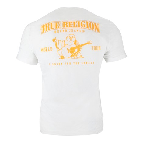 True Religion DBL Puff Logo Crew T-Shirt