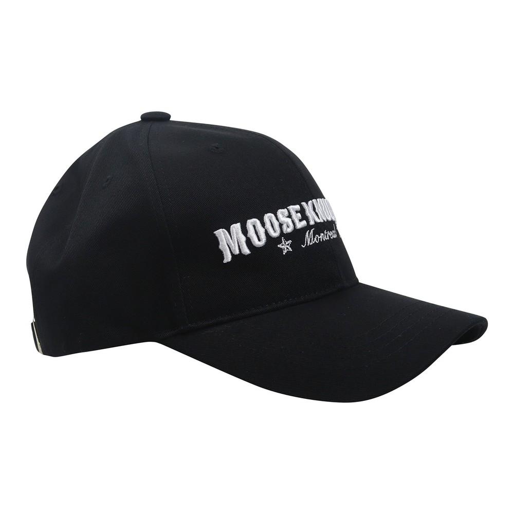 Moose Knuckles Western Script Cap Black