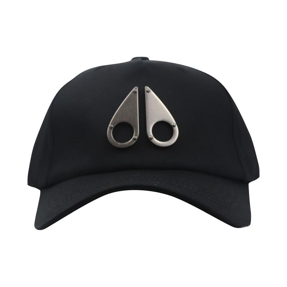 Moose Knuckles Logo Icon Cap Black