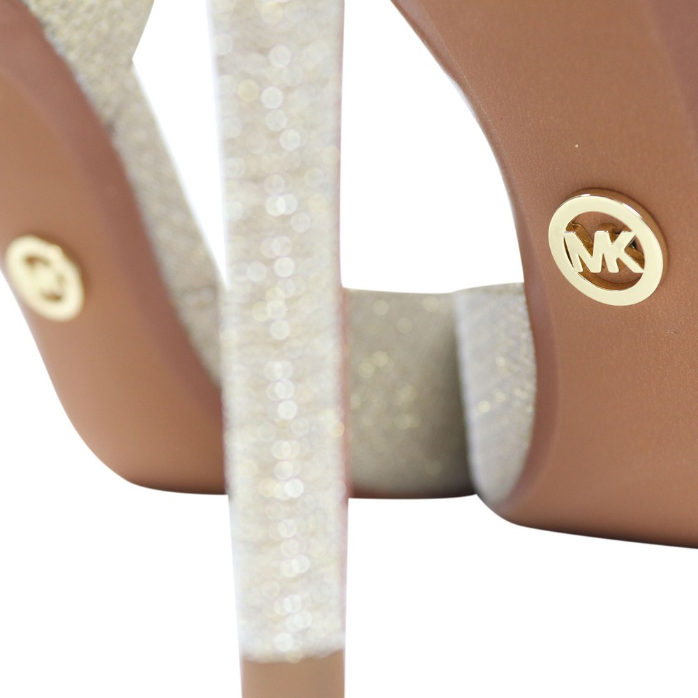 Michael Kors Keke Dorsay Court Shoe Gold