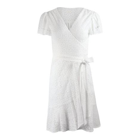Michael Kors Emb Anglais Wrap Dress